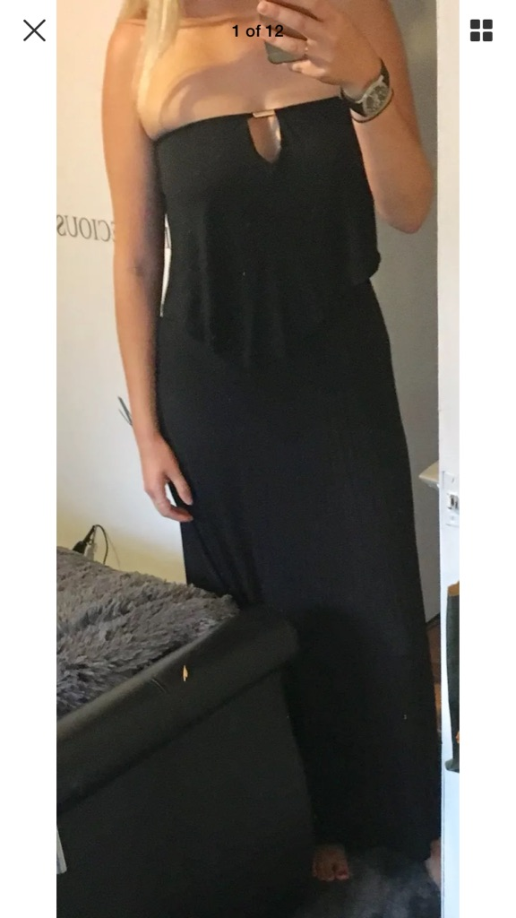 Next summer boutique maxi dress New with tags size UK 10