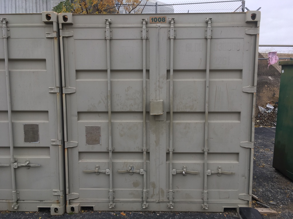 20' storage shipping containers