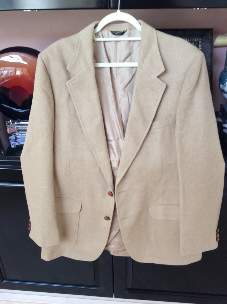 Men's Witlin & Gallagher vintage Camel Hair Blazer For Vintage fans!