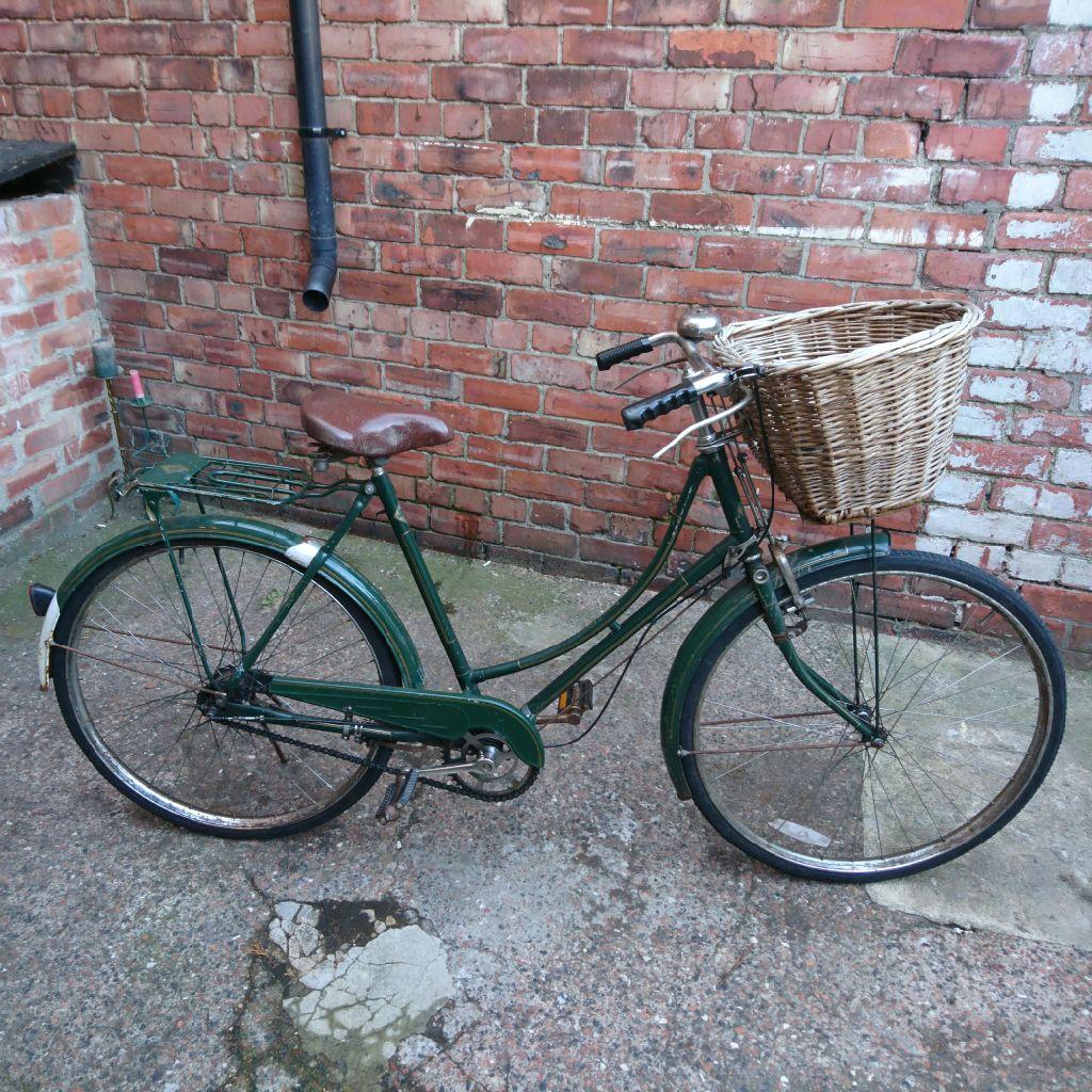 Replica vintage bicycle