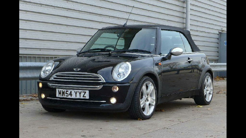 Mini Cooper Convertible 1.6 Black