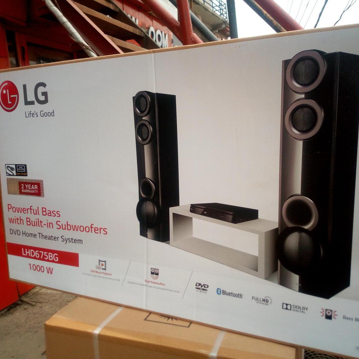 LG Blu-Ray Home Theater 1000W
