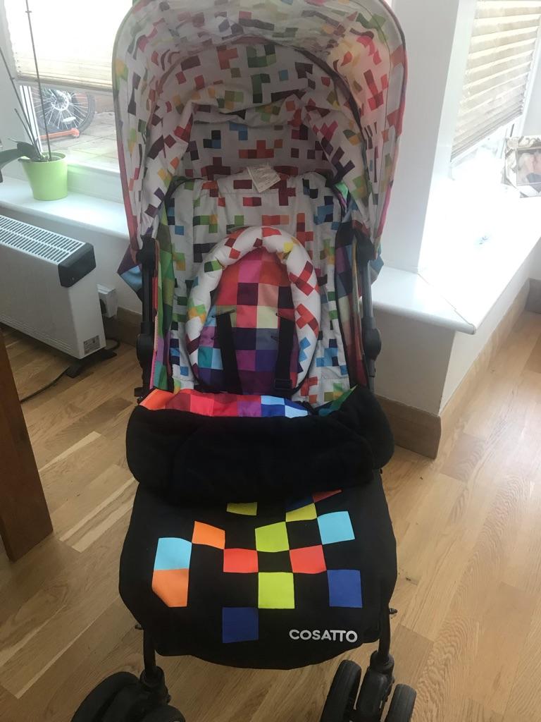 Cosatto pixelate stroller
