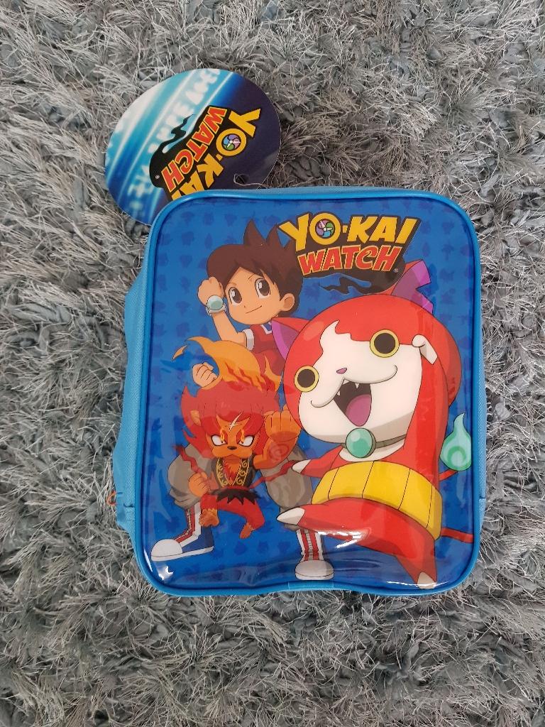 Brand new yo kai 3 piece lunch bag set