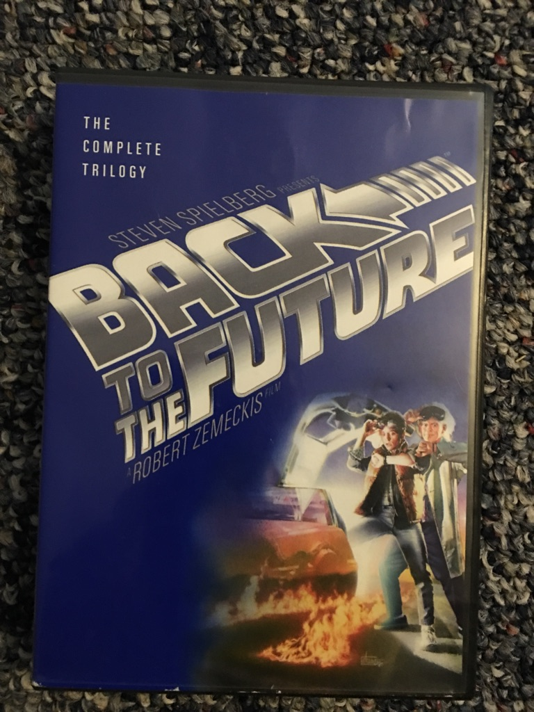 Back to the future a complete set of three DVDs
