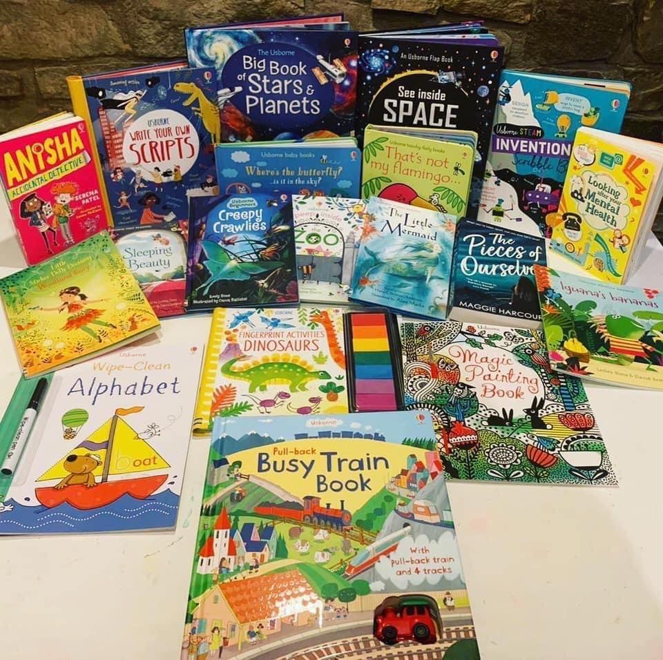 Usborne Books Organiser