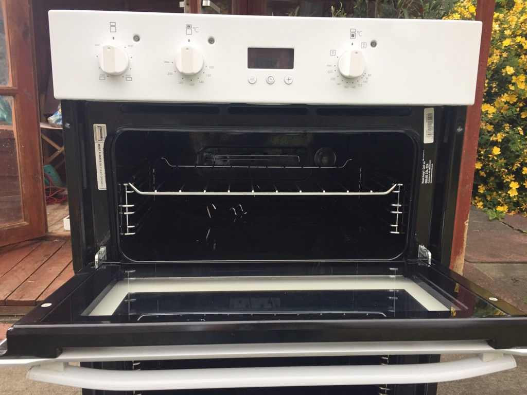Hotpoint built-in electric double oven