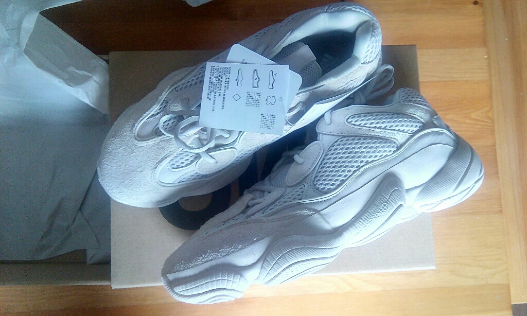 Adidas Yeezy 500 Blush Size 8