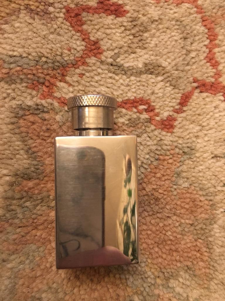 Stainless perfume bottle 1 oz