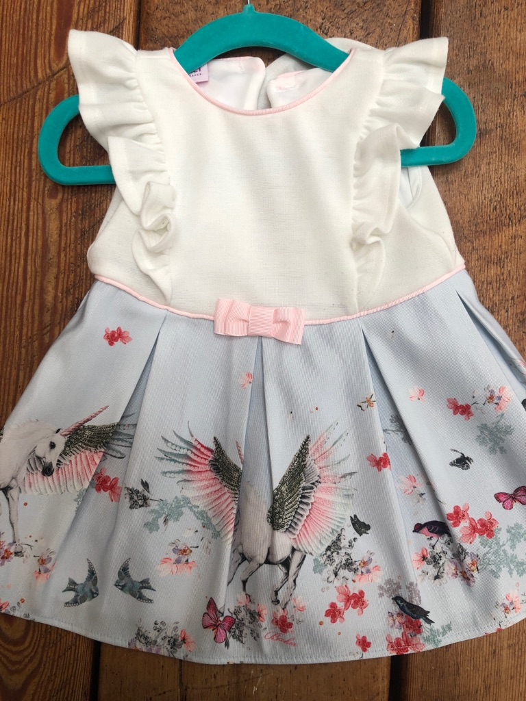 Ted Baker Unicorn dress 3 to 6 months