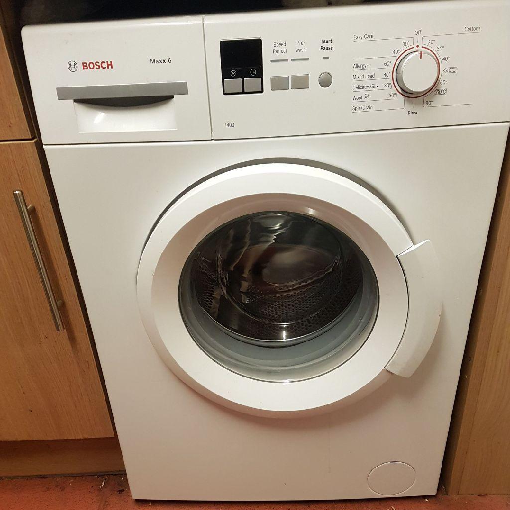 Bosch Washing Machine Maxx 6 1400