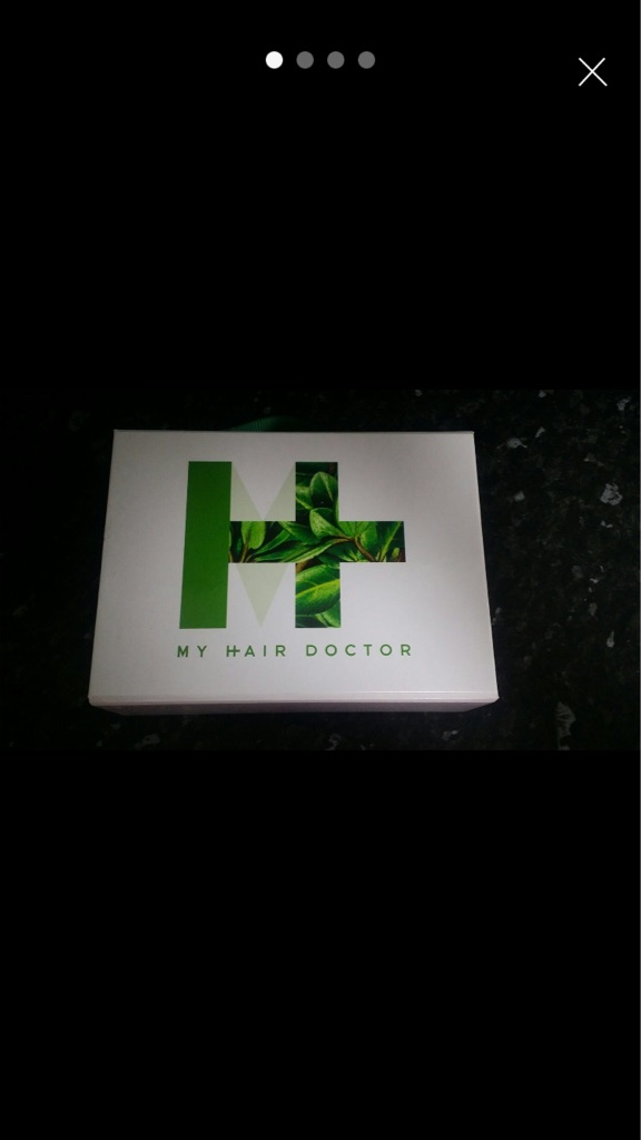 My hair dr hair and scalp cleansing set