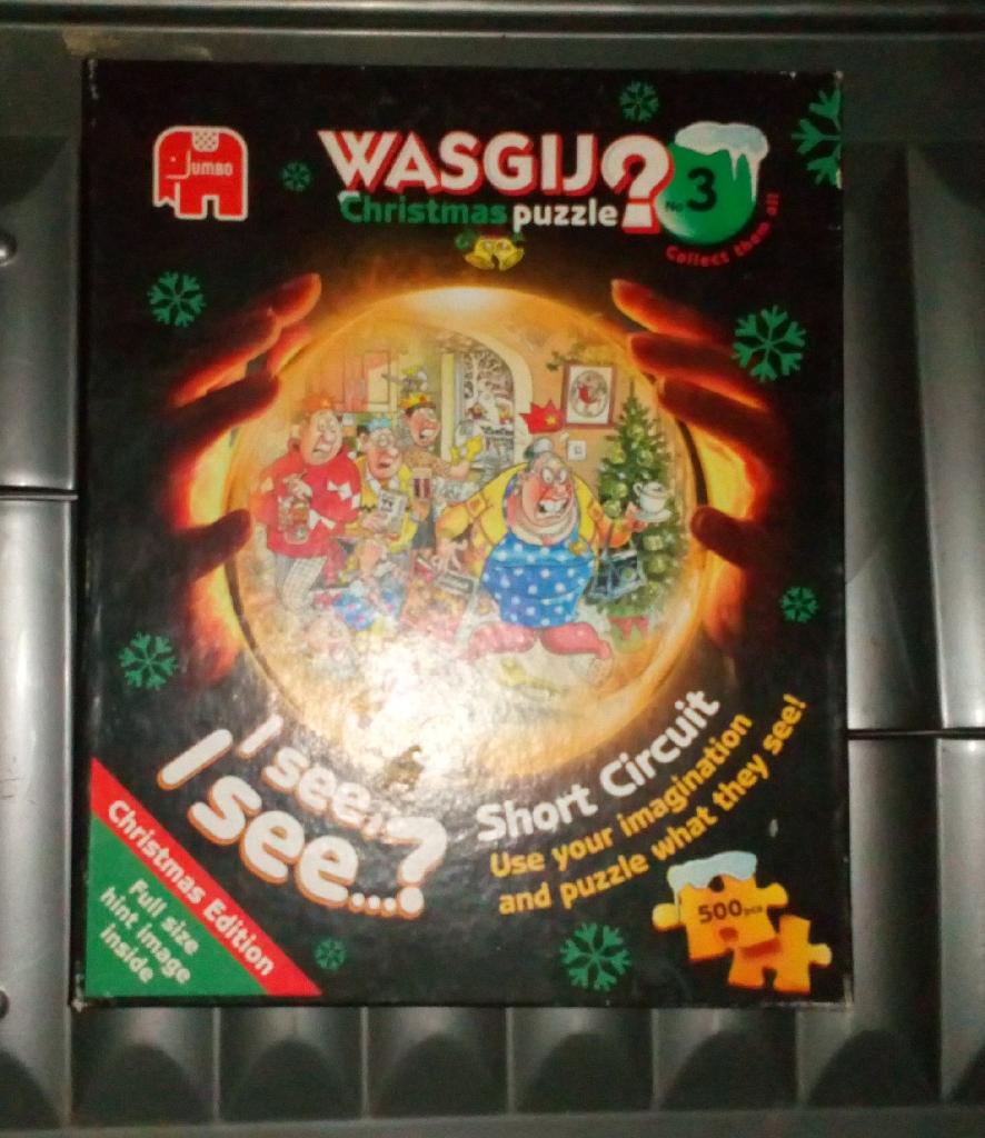 Wasgij puzzles X 3