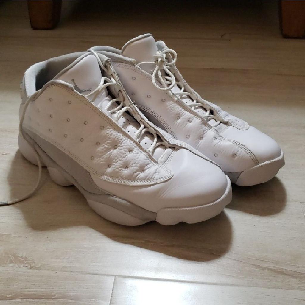 Jordan 13 low white