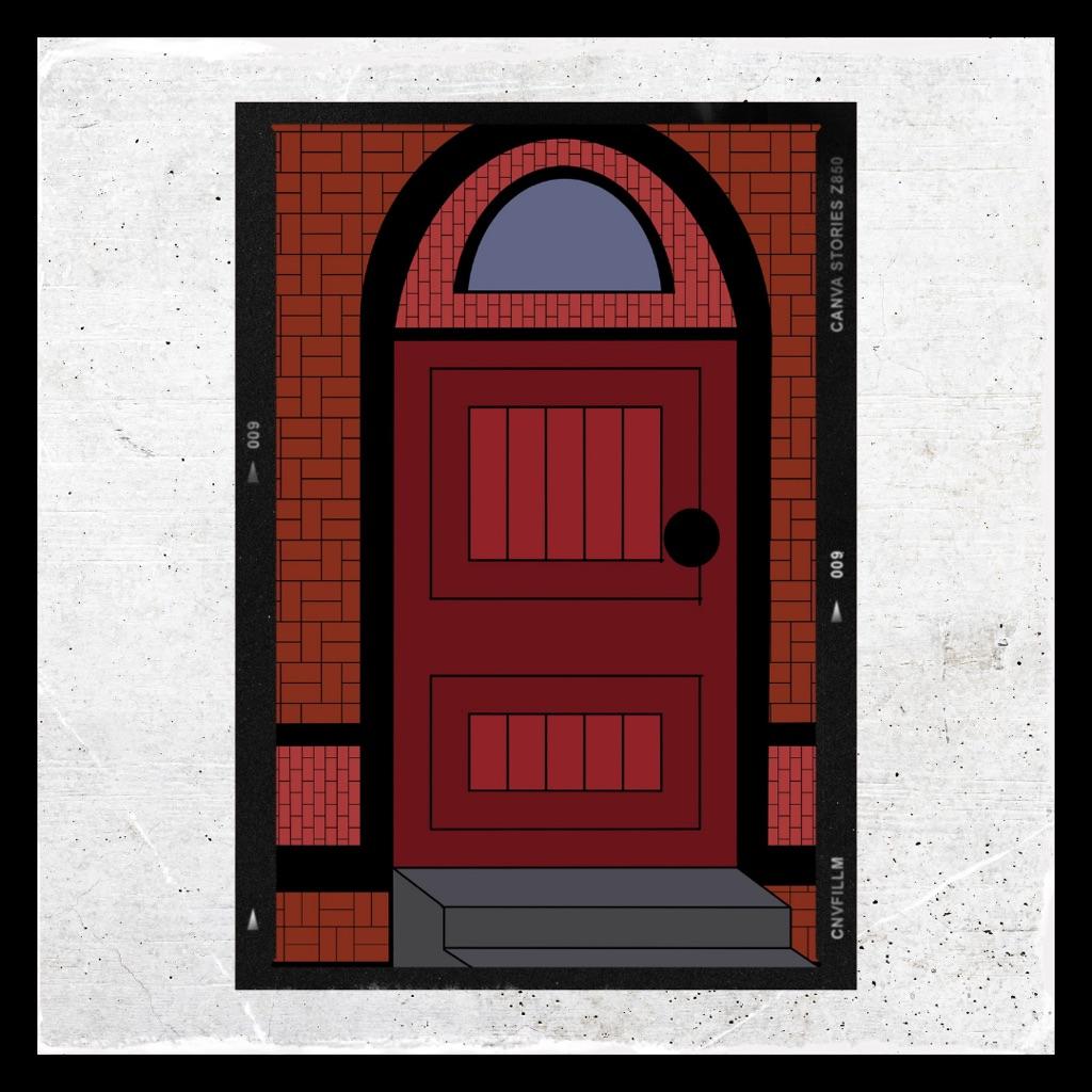 Doorway Digital Art Print
