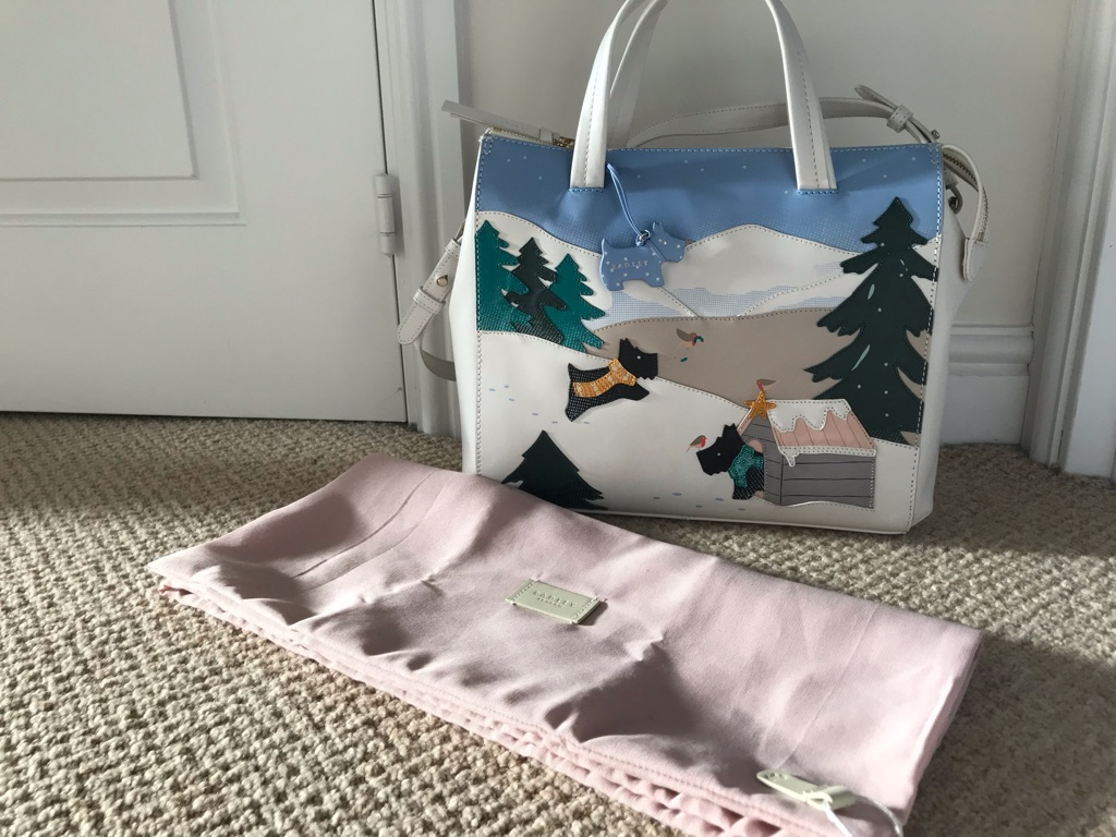 "Radley ""At Home in the Snow"" Handbag"