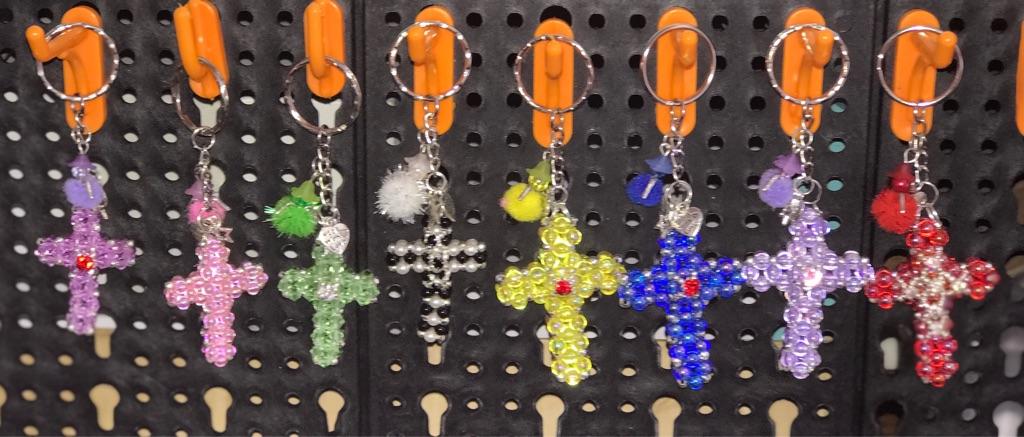 Keyring are bag charms Cross