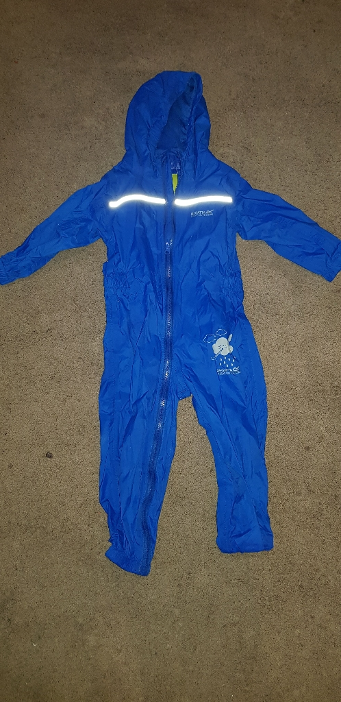 Regatta Kids all in one puddle suit