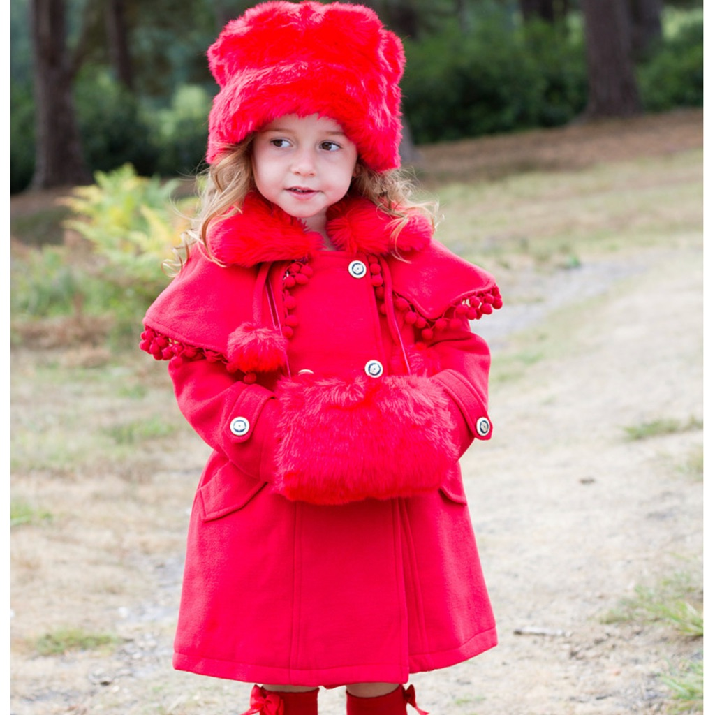 Couche Tot Red Coat Set 1-2years