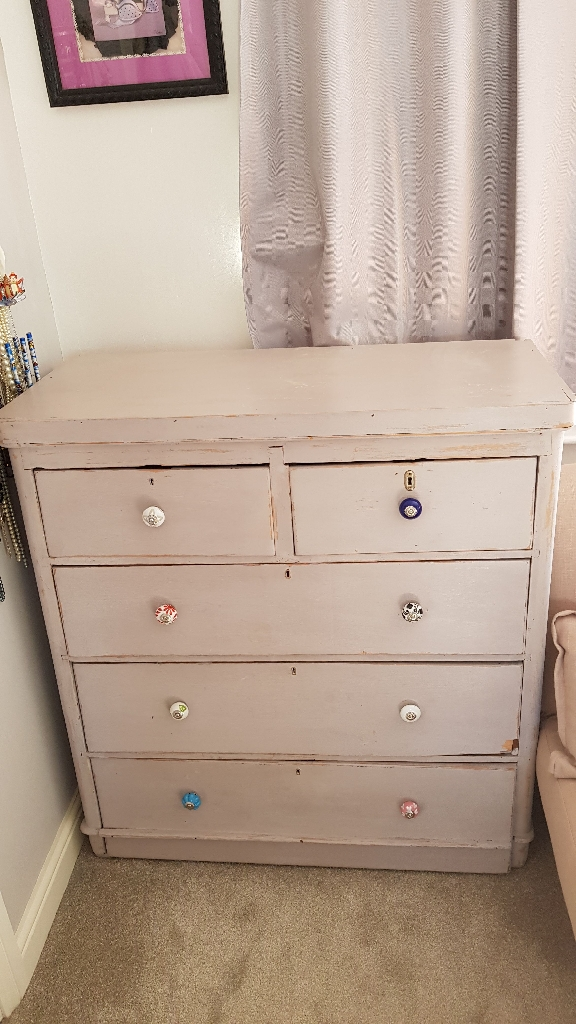 Chest of drawers Woody chabby chic