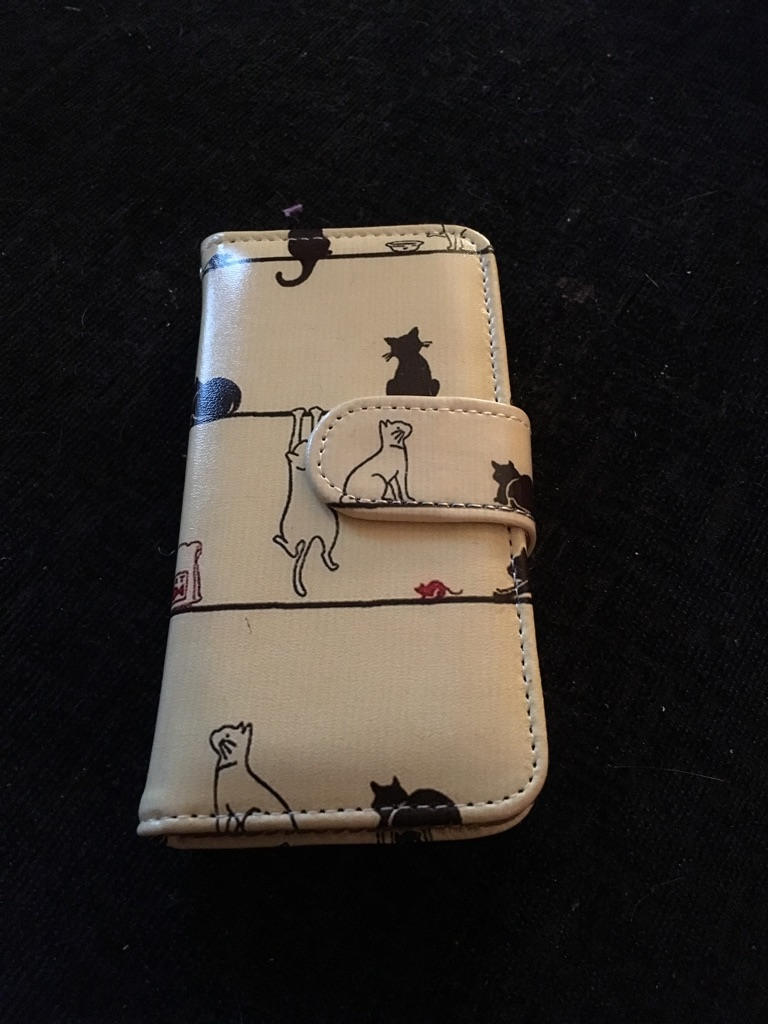 I phone 5c wallet/cover
