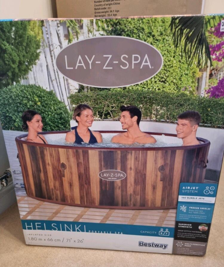 A range of hot tubs for sale
