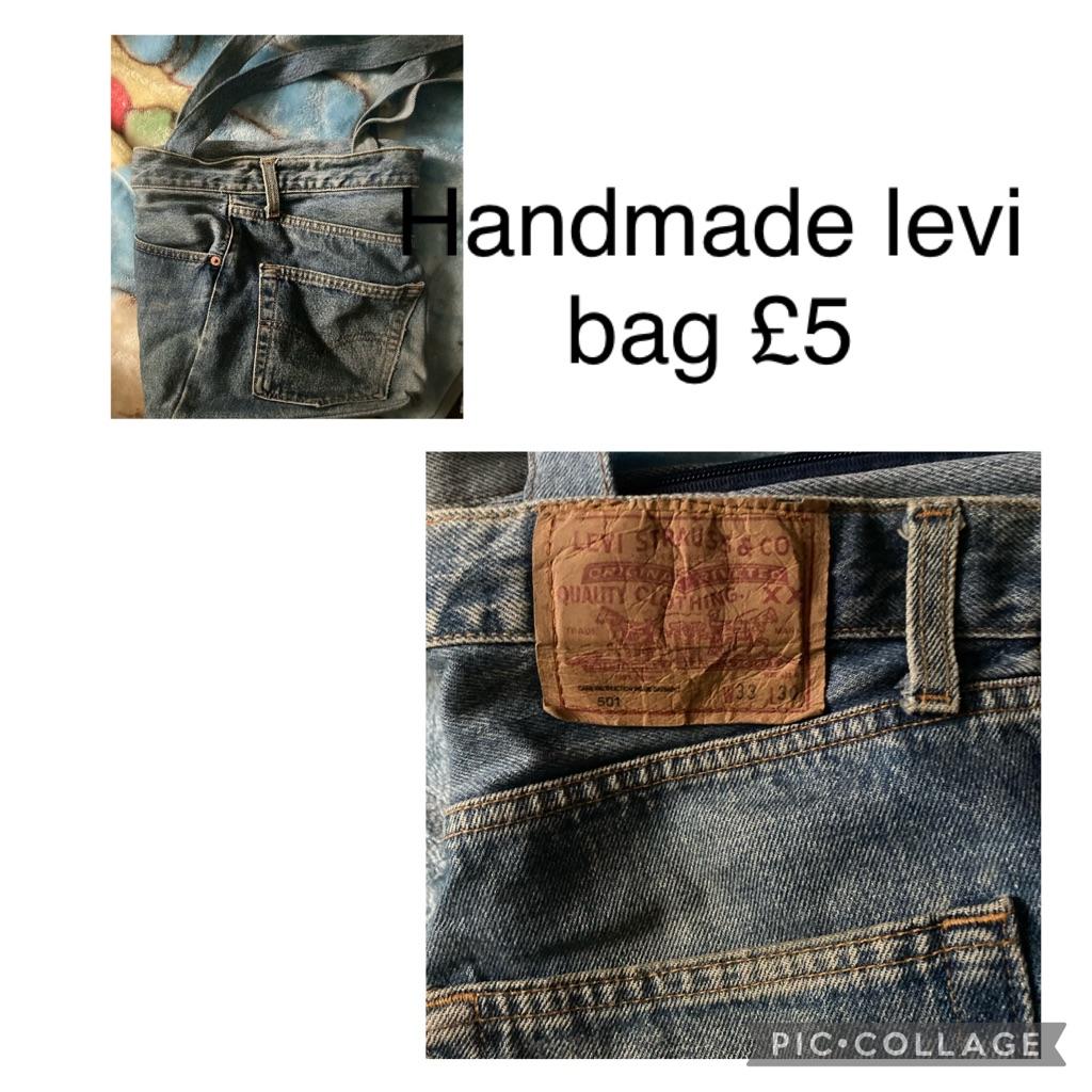 Handmade levi bag