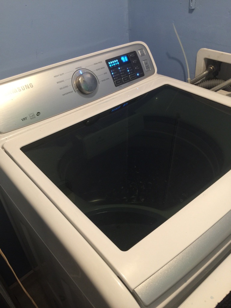 Samsung washed and dryer