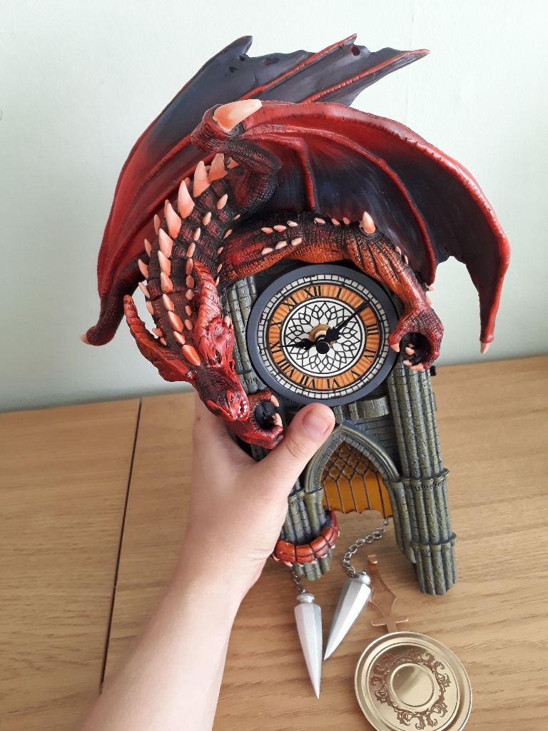 Regin of fire clock