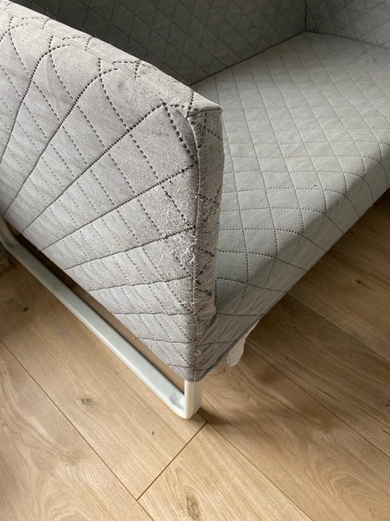 Grey IKEA KNOPPARP sofa/settee