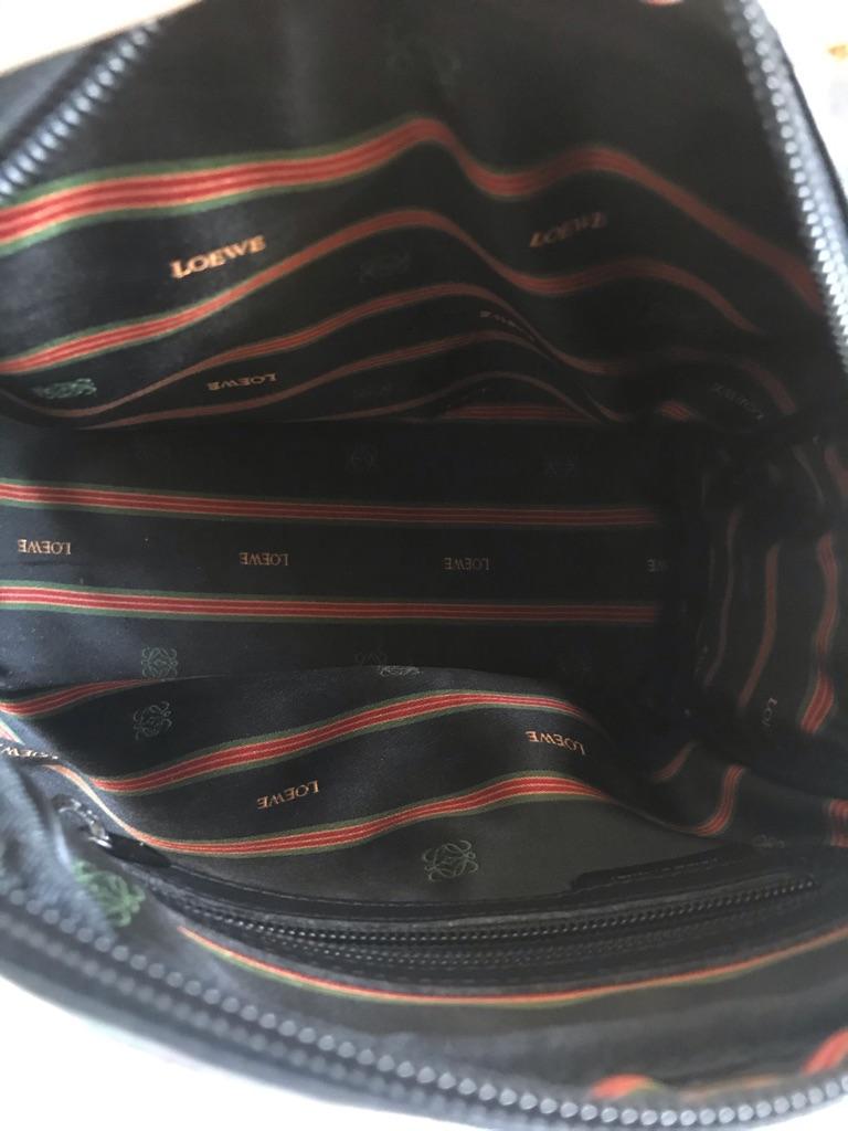 LOEWE Black vantage camera bag
