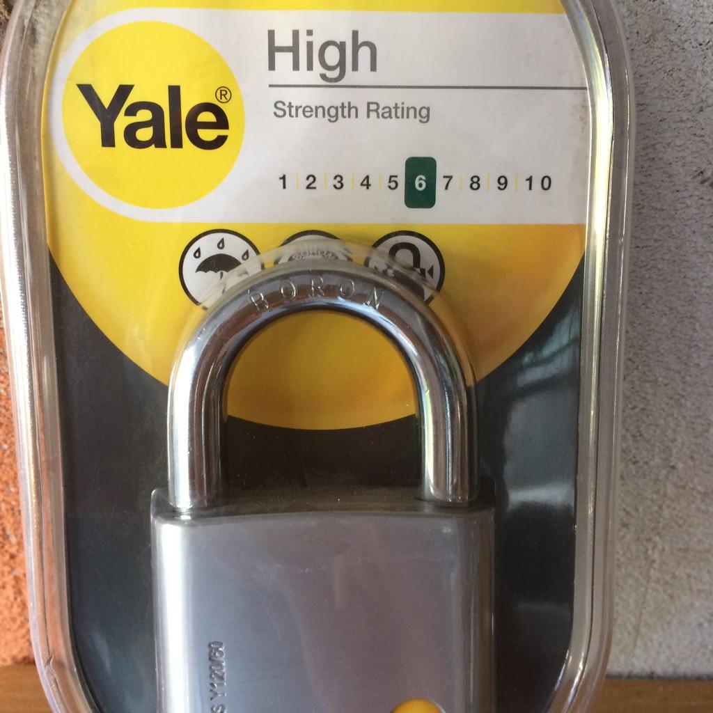Padlock, Yale 60mm