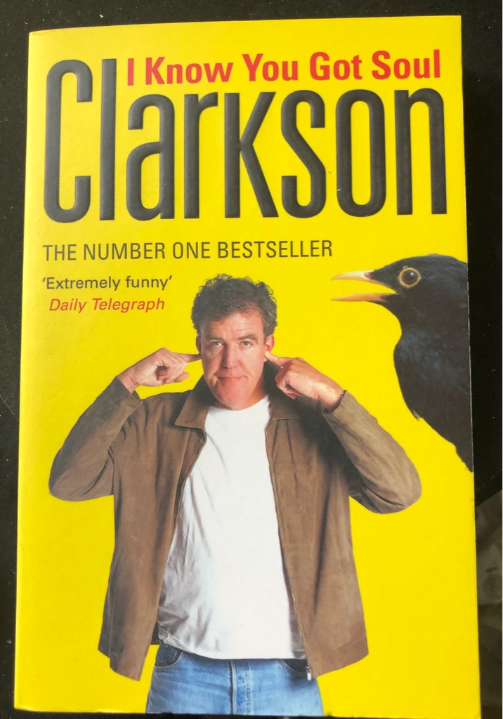CLARKSON I KNOW YOU GOT SOUL BOOK