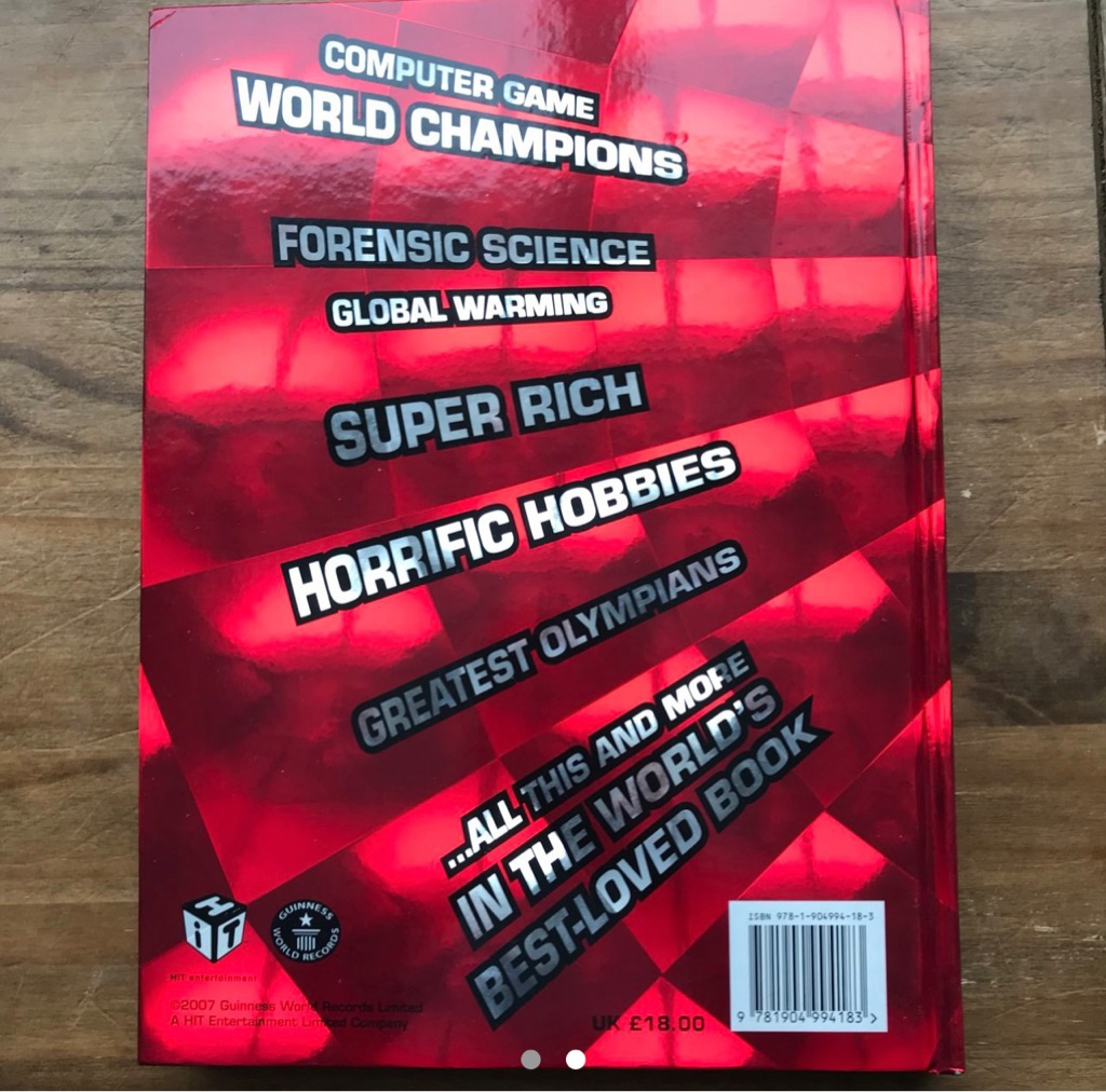 Guinness world records 2008 book
