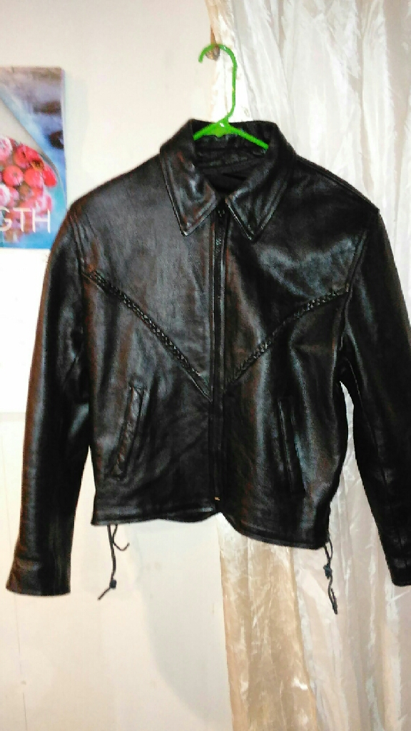 Leather jacket for Riding