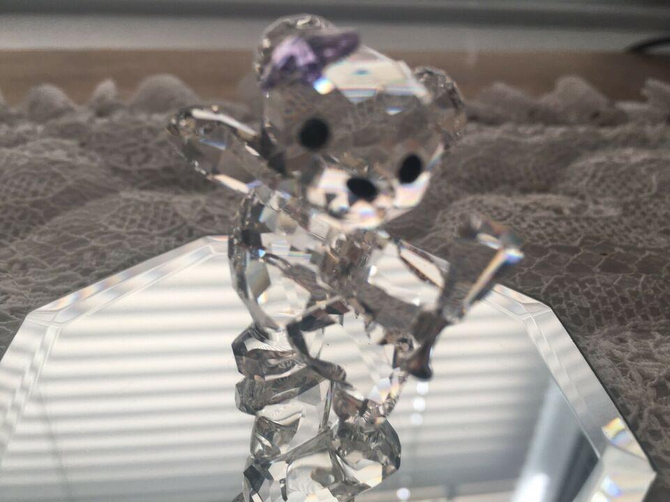 Pair of Mini Crystal Teddy Bears