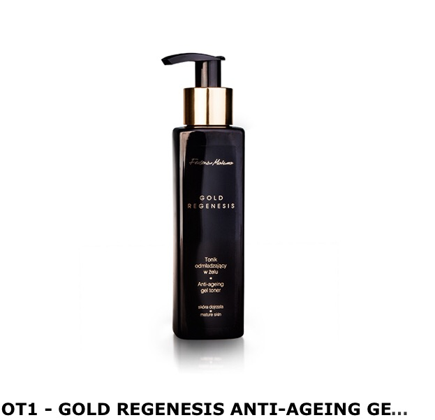 Gold regenesis anti ageing gel toner