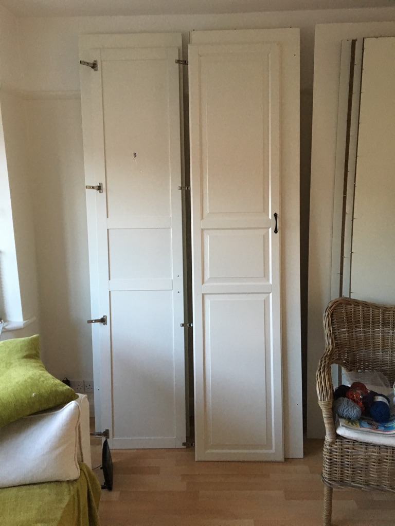 7 ikea pax doors £15.00 each