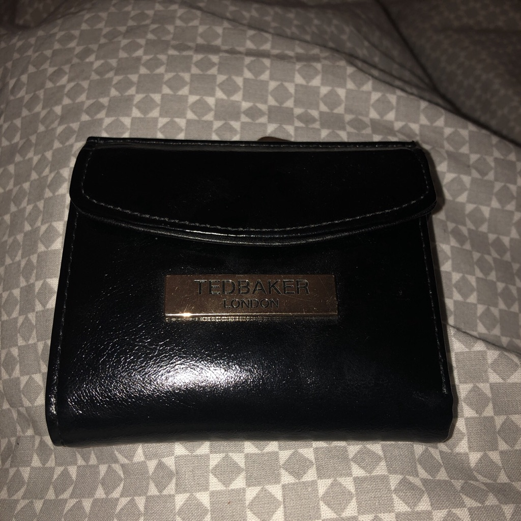 Ted baker leather purse