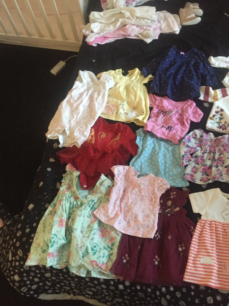 Baby girl dresses and tops