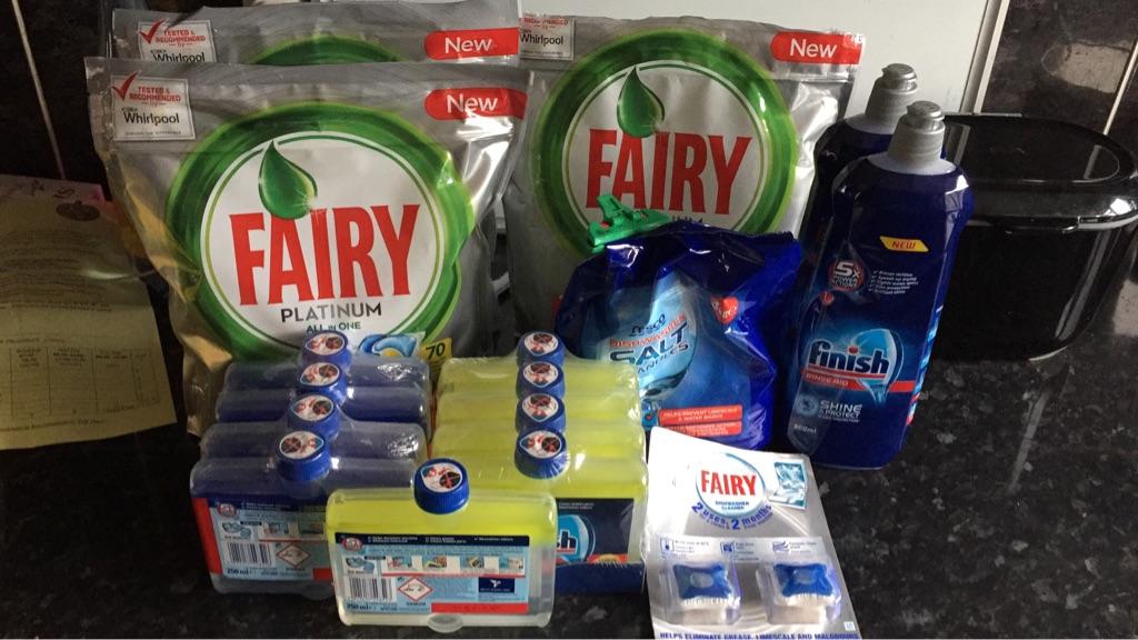 Dishwasher supplies