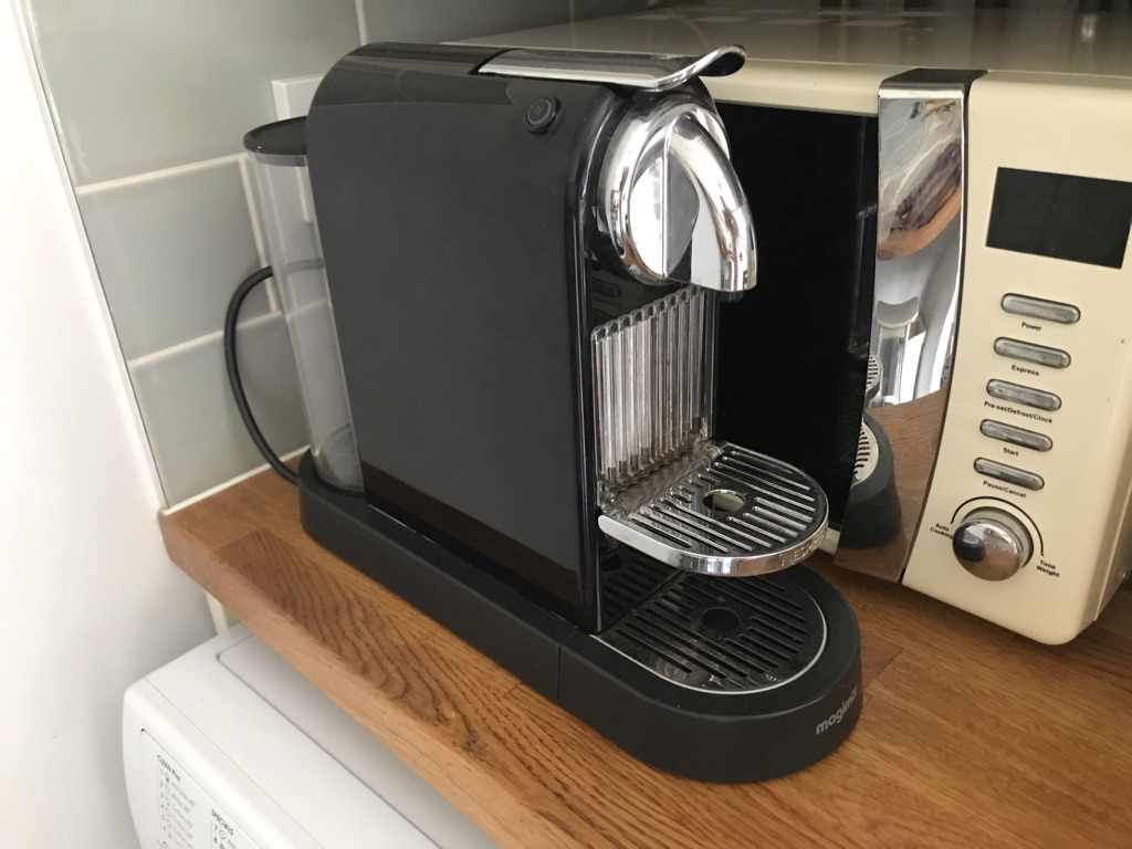 Nespresso Magnimix coffee machine
