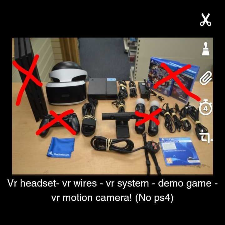Ps4 Vr stuff only