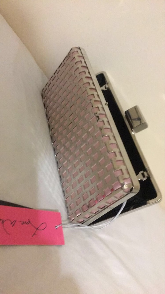 Rose gold clutch for sale
