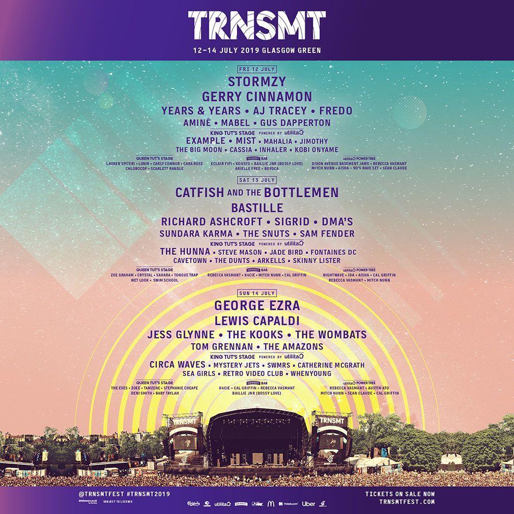 2 x Weekend TRNSMT E Tickets