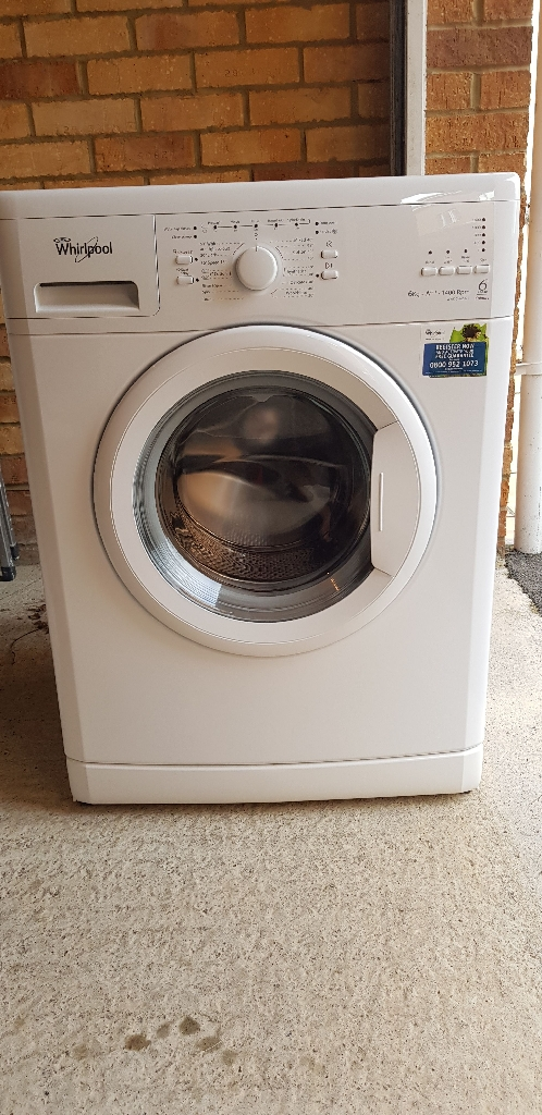 Whirlpool washing machine (wwdc 6400/1)