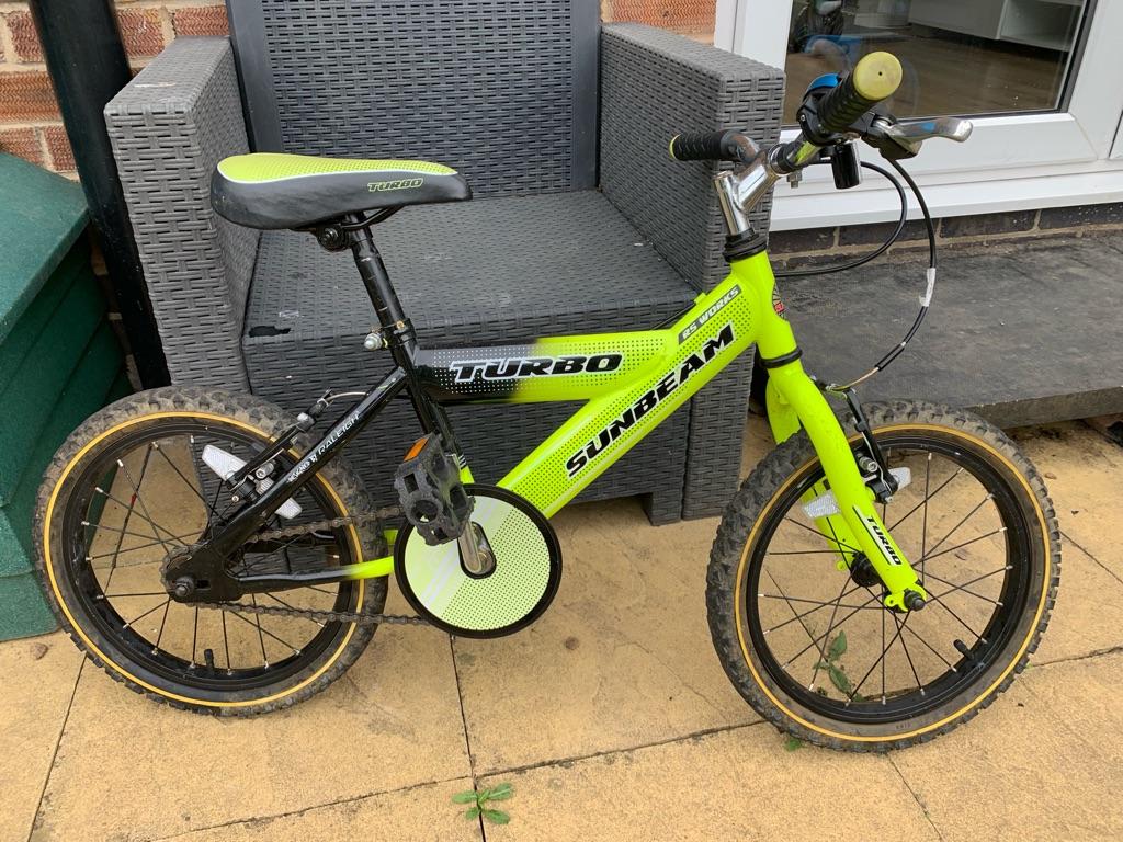 Boys 'Turbo Sunbeam' bike