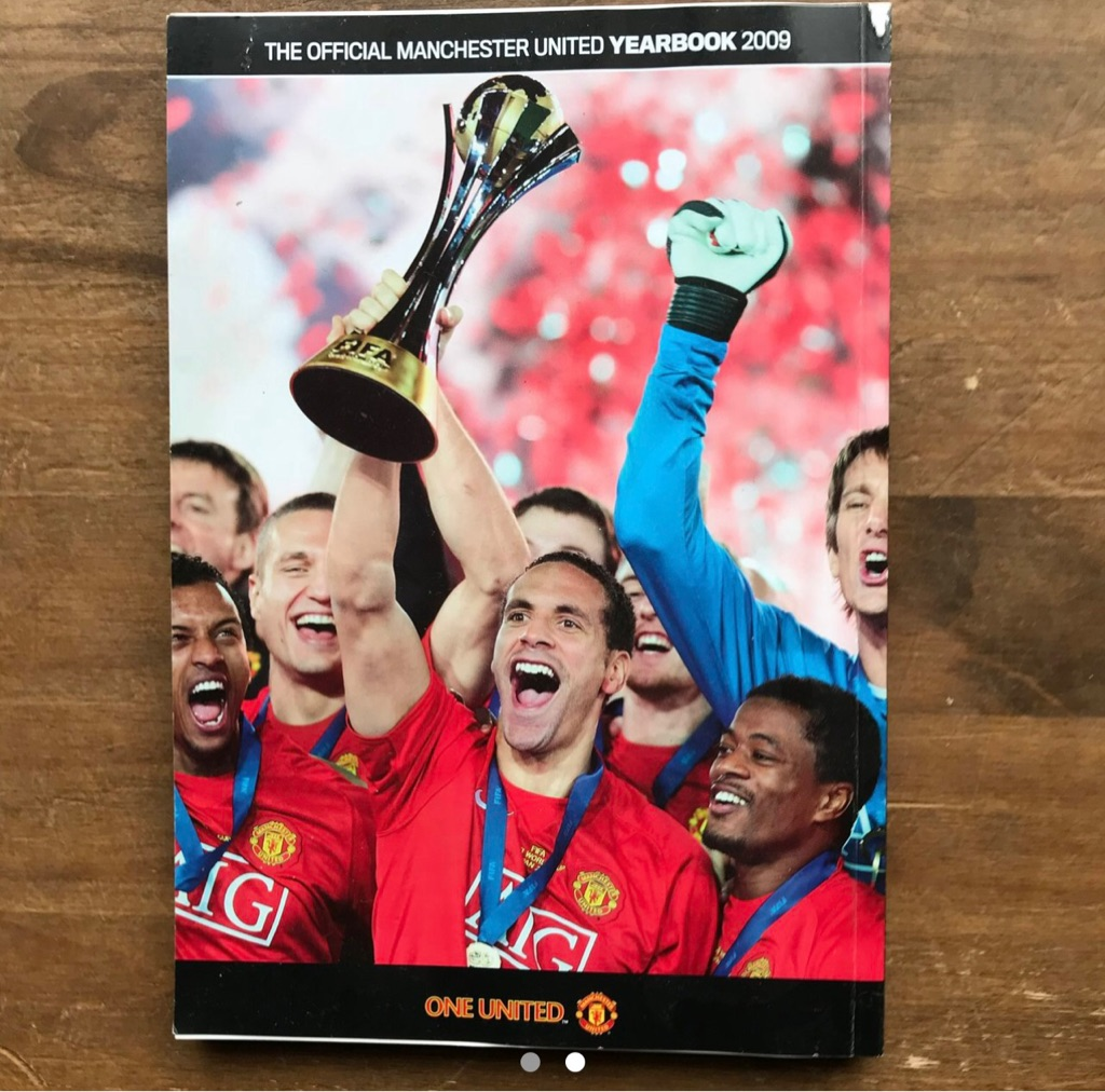 Manchester United yearbook 2009