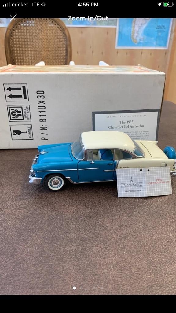 Franklin mint 1955 Chevrolet Bel Air