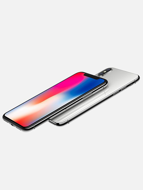 Apple IPhone X 256gb - Silver (O2) Open | New